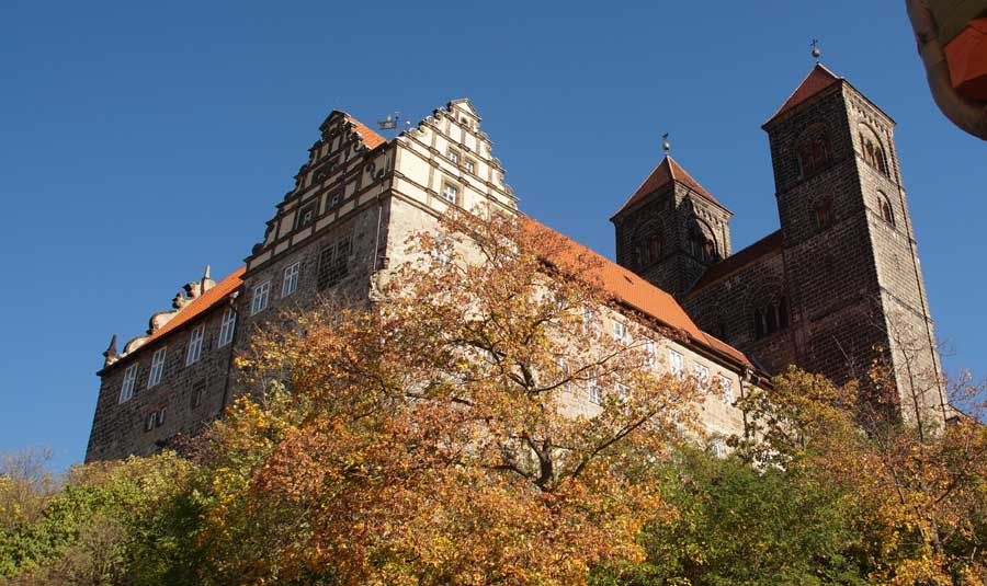 Schloss in Quedlinburg