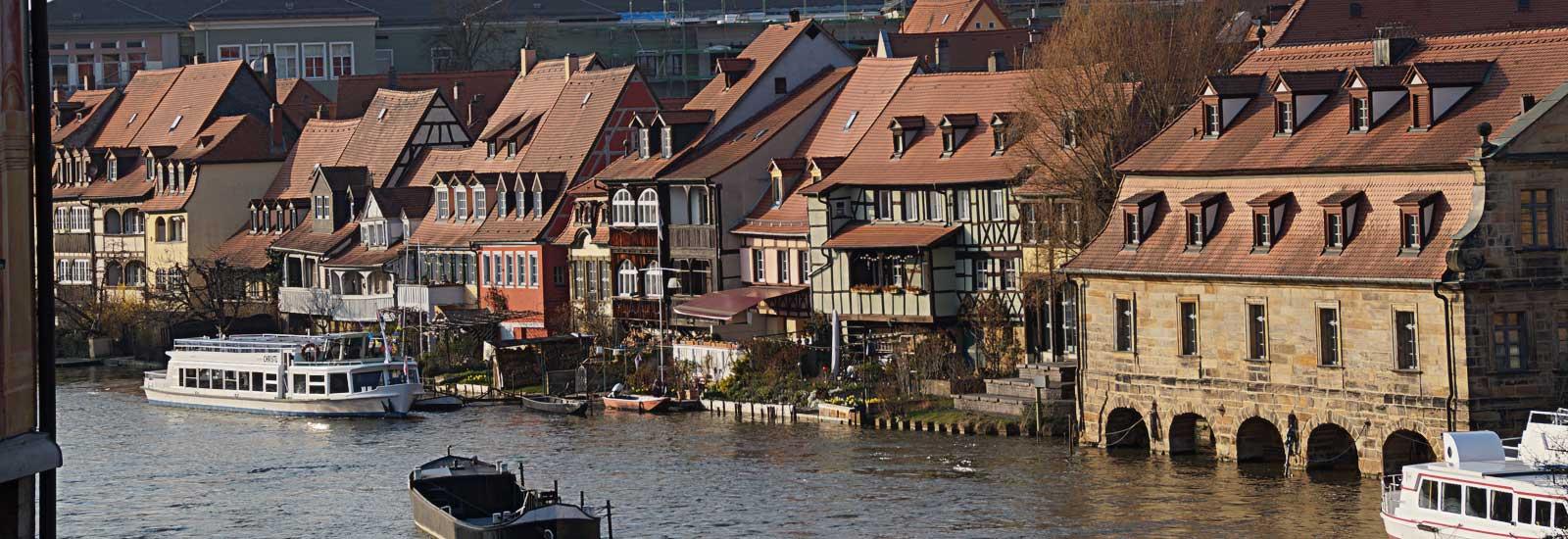 Bamberg Hafen - Oppida Schöne Städte