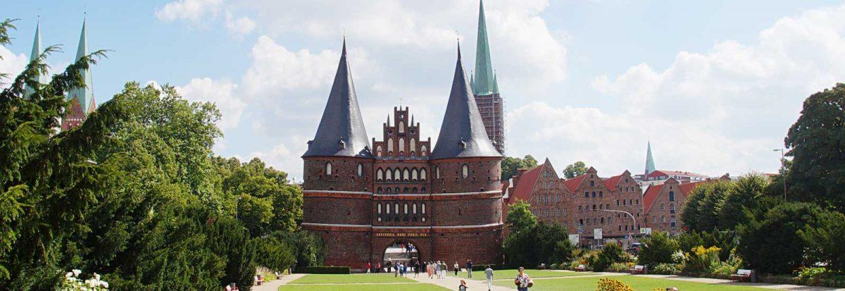 Lübeck Holstentor - Schöne Städte