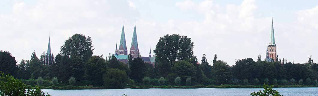 Stadtansicht Altstadt Lübeck