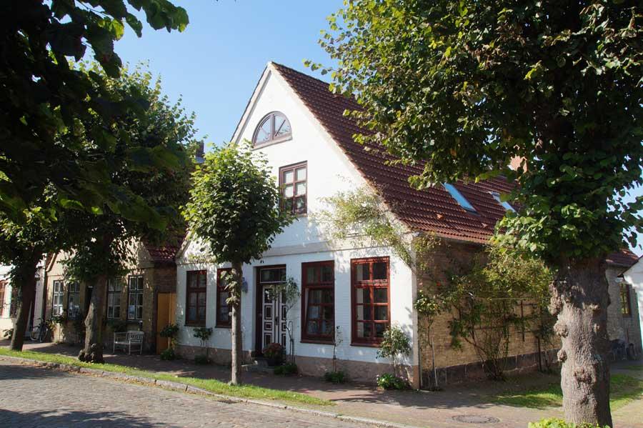 Lange Straße in Arnis