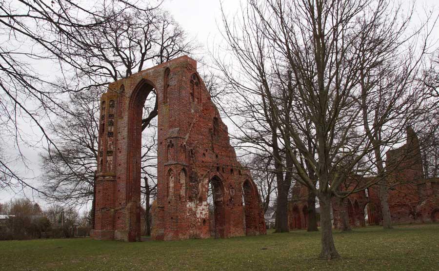 Sehenswürdigkeiten in Greifswald Klosterruine Eldena