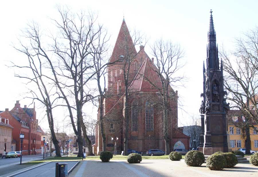 Sehenswürdigkeit in Greifswald St. Jacobi