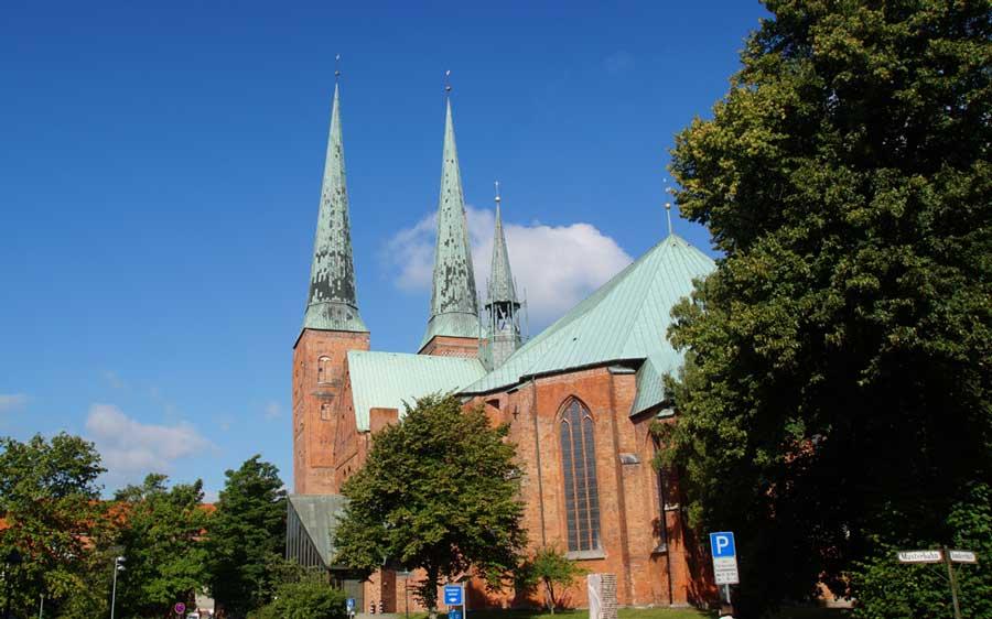 Der Dom zu Lübeck als älteste Kirche