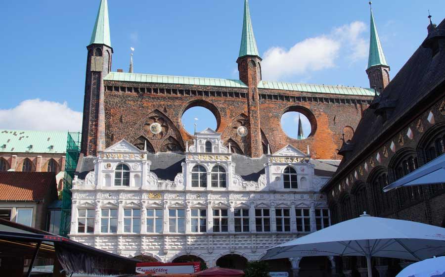 Lübecks Rathaus