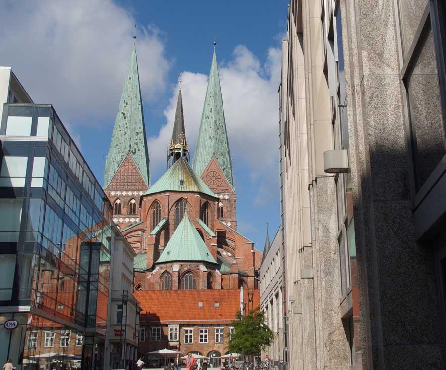 Die St. Marienkirche in Lübeck