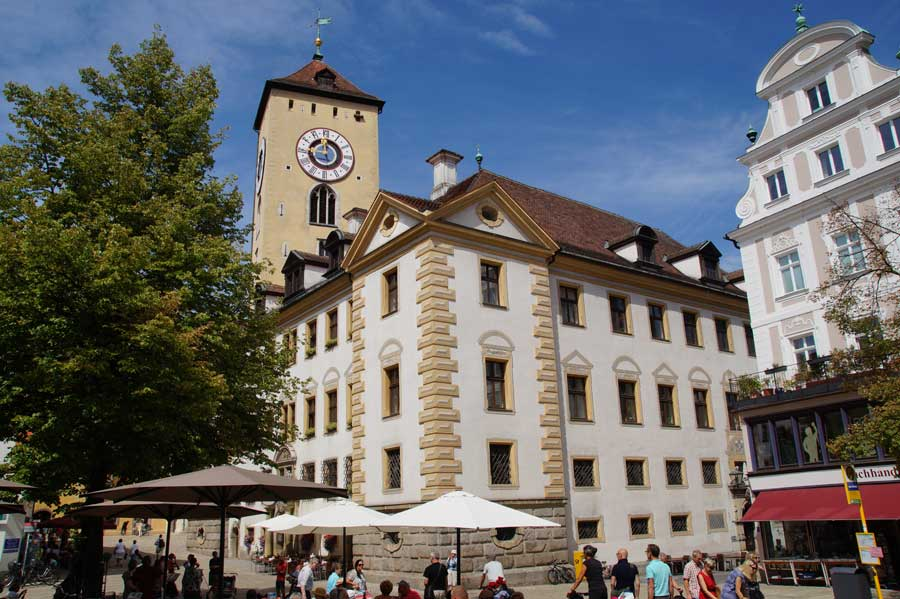 Neues Rathaus in Regensburg