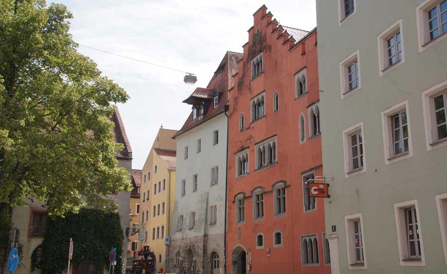 Runtingerhaus - Sehenswürdigkeiten in Regensburg