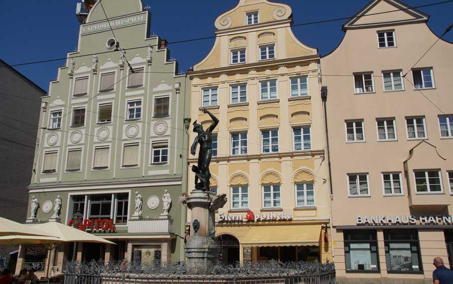 Altstadt von Augsburg