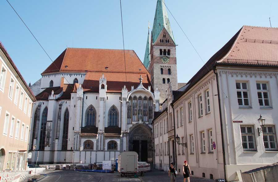 Sehenswürdigkeiten in Augsburg - der Dom