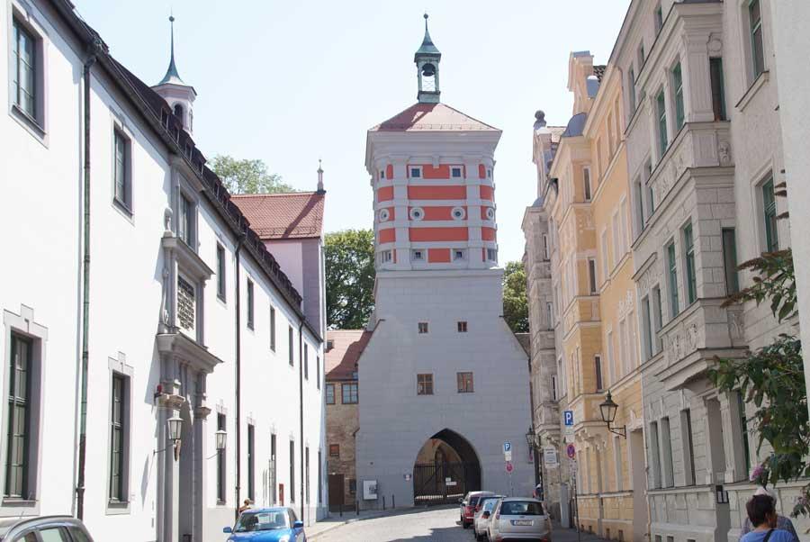 Sehenswürdigkeiten in Augsburg - Rotes Tor