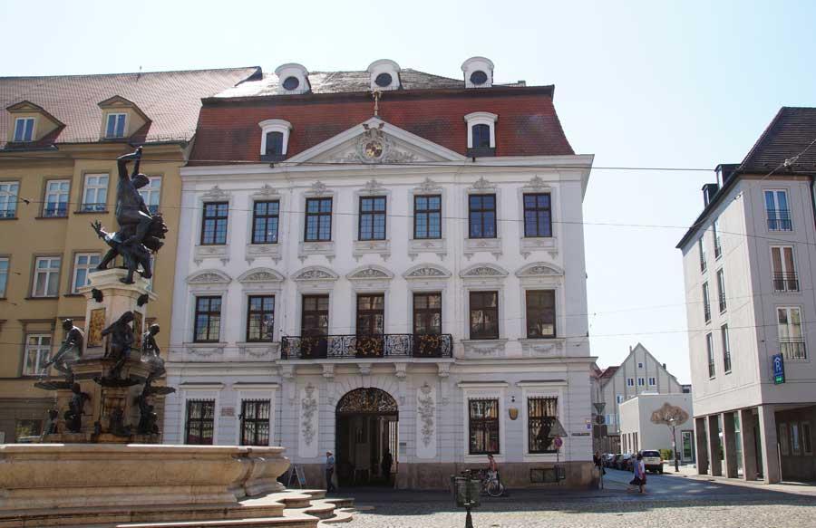 Schaezlerpalais in augsburg