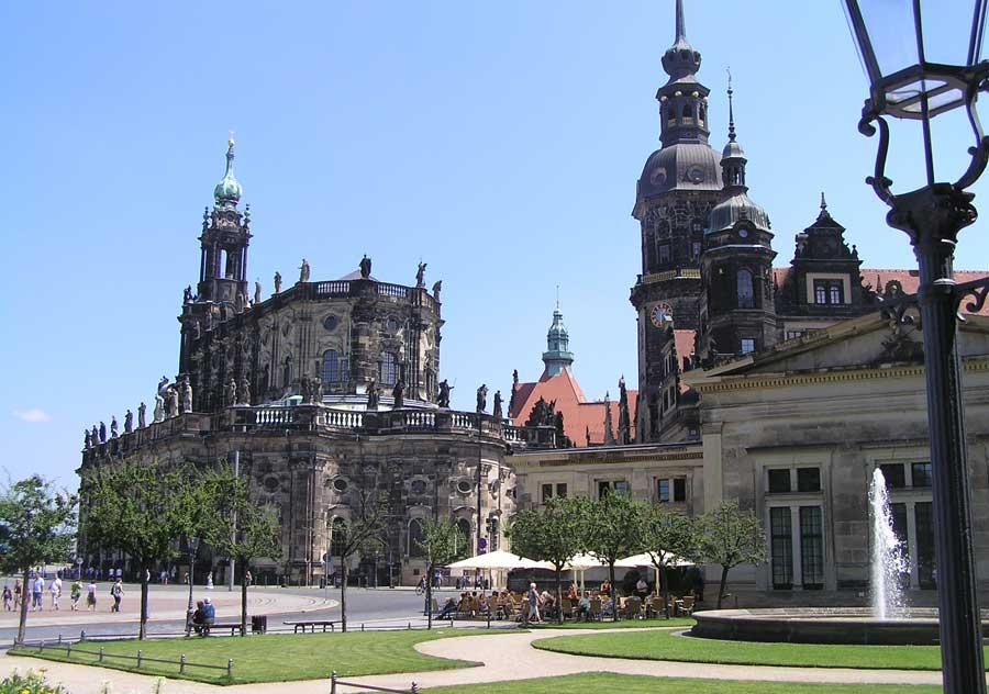 Sehenswürdigkeiten in Dresden - Hofkirche