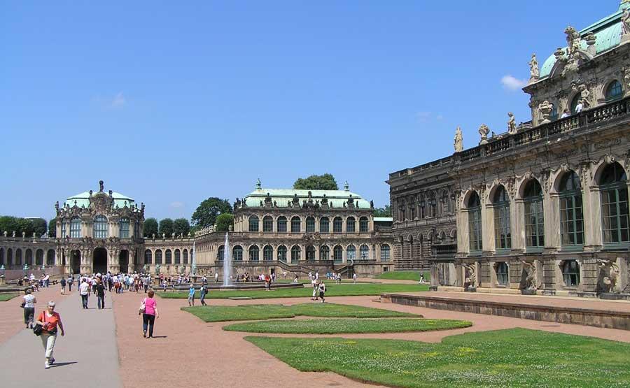 Sehenswürdigkeiten in Dresden - Zwinger