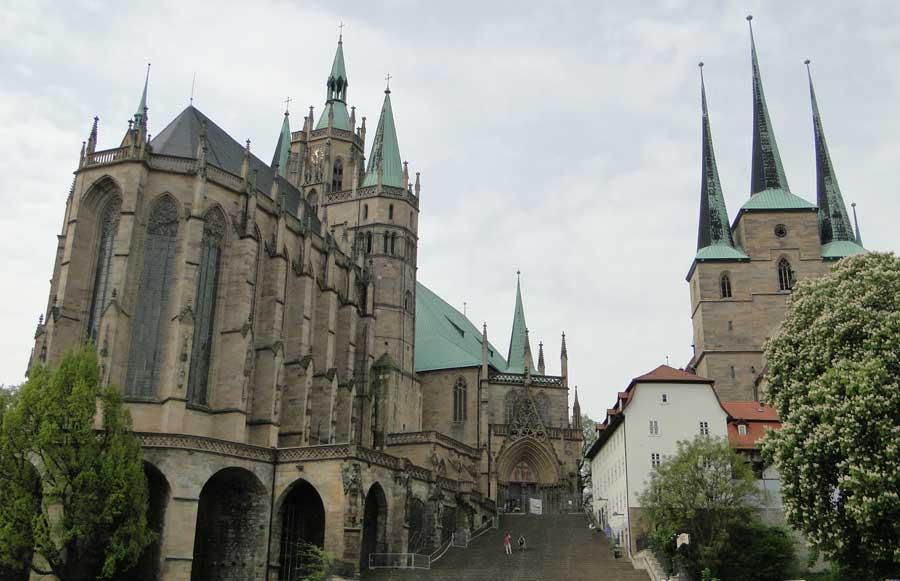 Sehenswürdigkeiten in Erfurt - Dom St. Marien