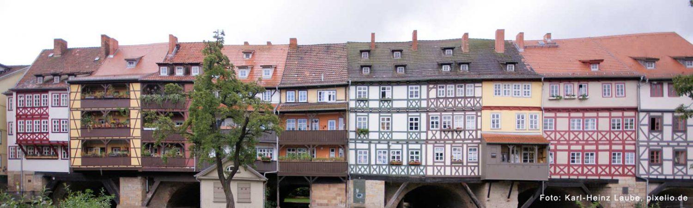 Die Altstadt von Erfurt – eine Städtereise