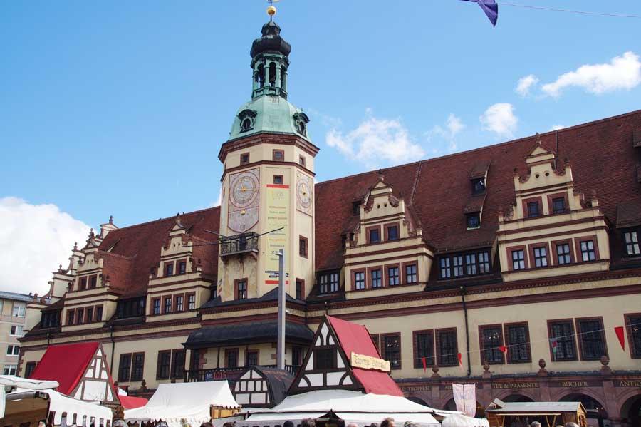 Sehenswürdigkeiten in Leipzig - Altes Rathaus