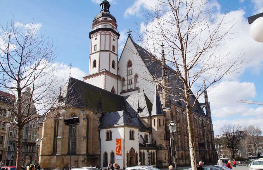 Sehenswürdigkeiten in Leipzig: Thomaskirche