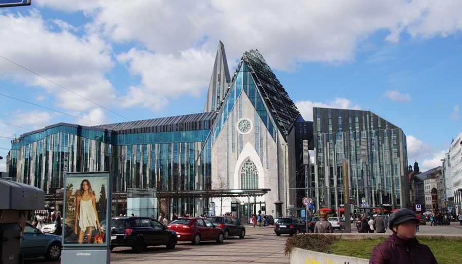 Leipzigs Universitätsgebäude