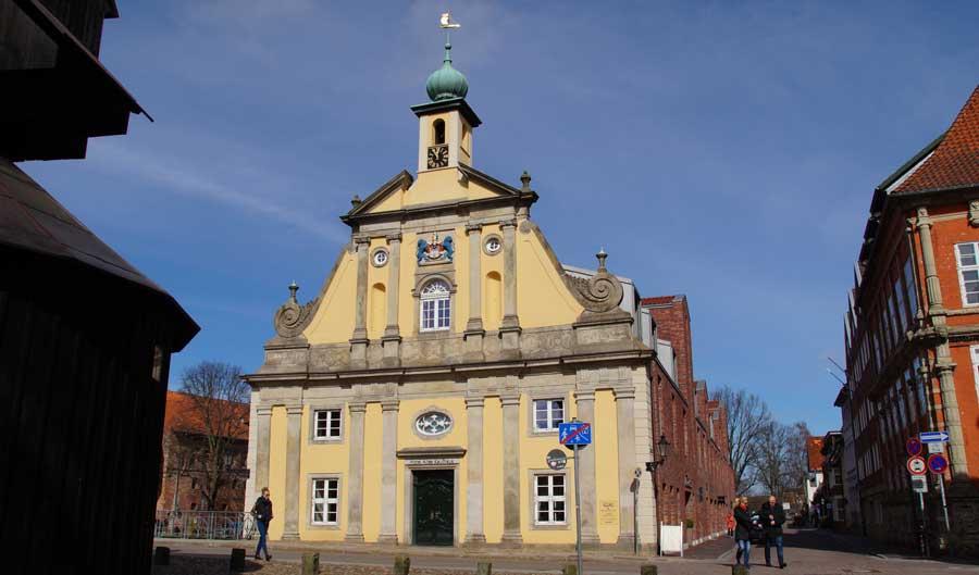 Altes Kaufhaus in der Altstadt von Lüneburg