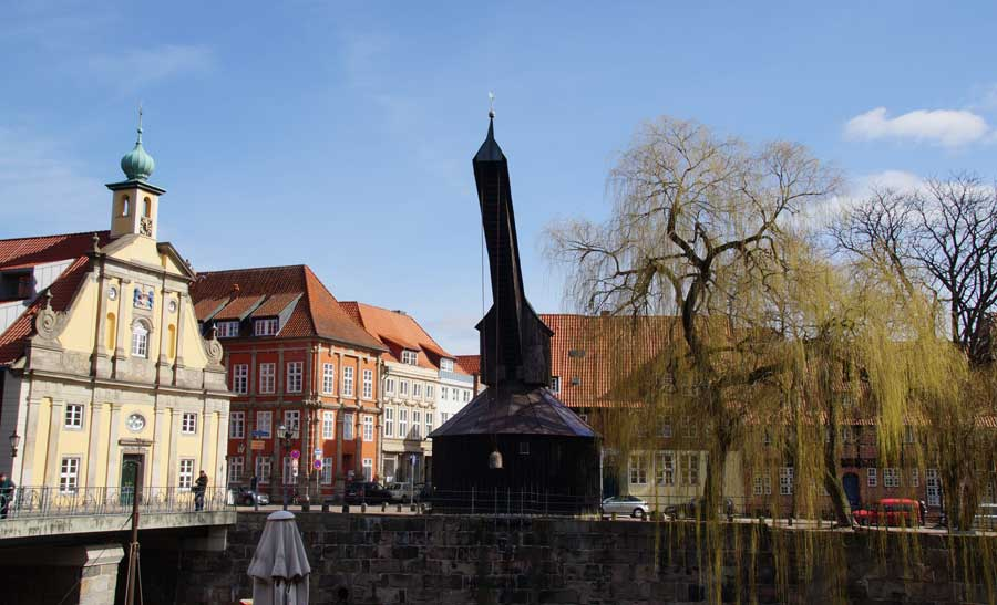 Alter Kran in Lüneburg