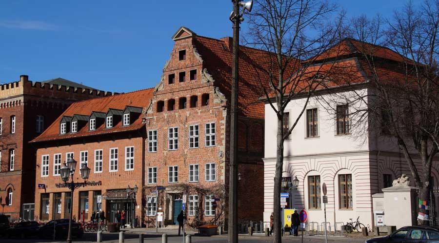 Häuserzeile am Markt in Lüneburg