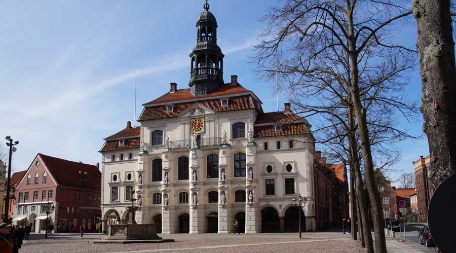Sehenswürdigkeiten in Lüneburg - Lüneburgs historisches Rathaus