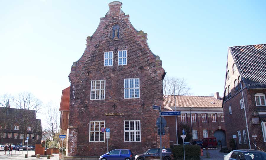 Ratsbücherei in Lüneburg