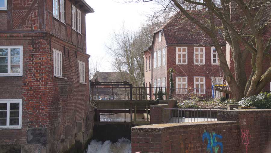 Die Ratsmühle in Lüneburg