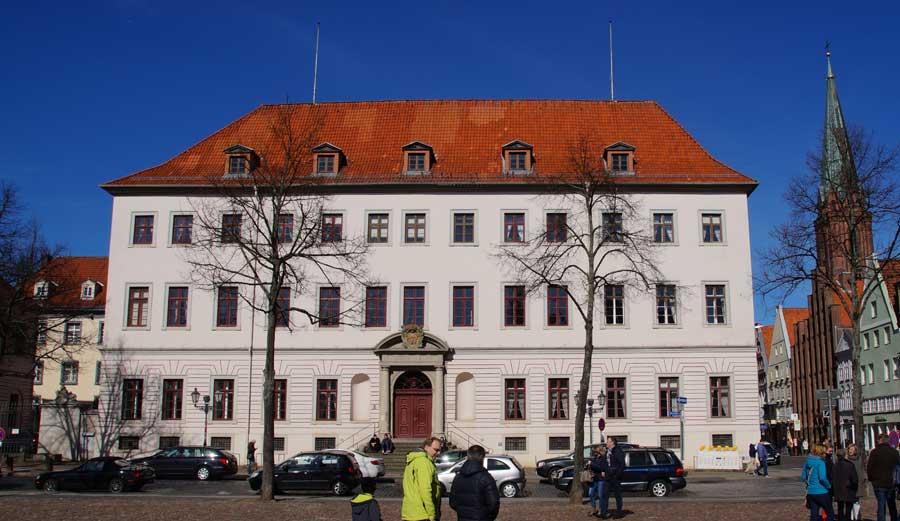 Stadtschloss in Lüneburg