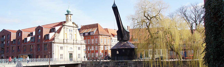Kran in Lüneburg