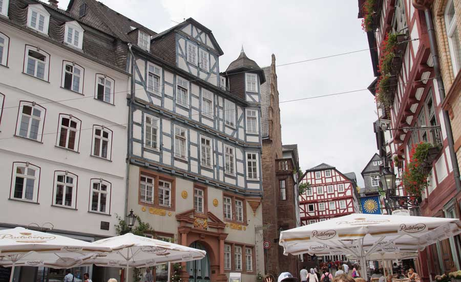 Markt - Sehenswürdigkeiten in Marburg