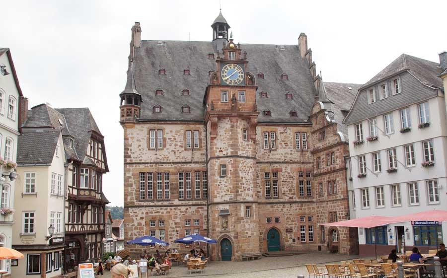 Rathaus in Marburg