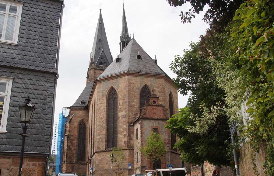 Stadtpfarrkirche Marburg