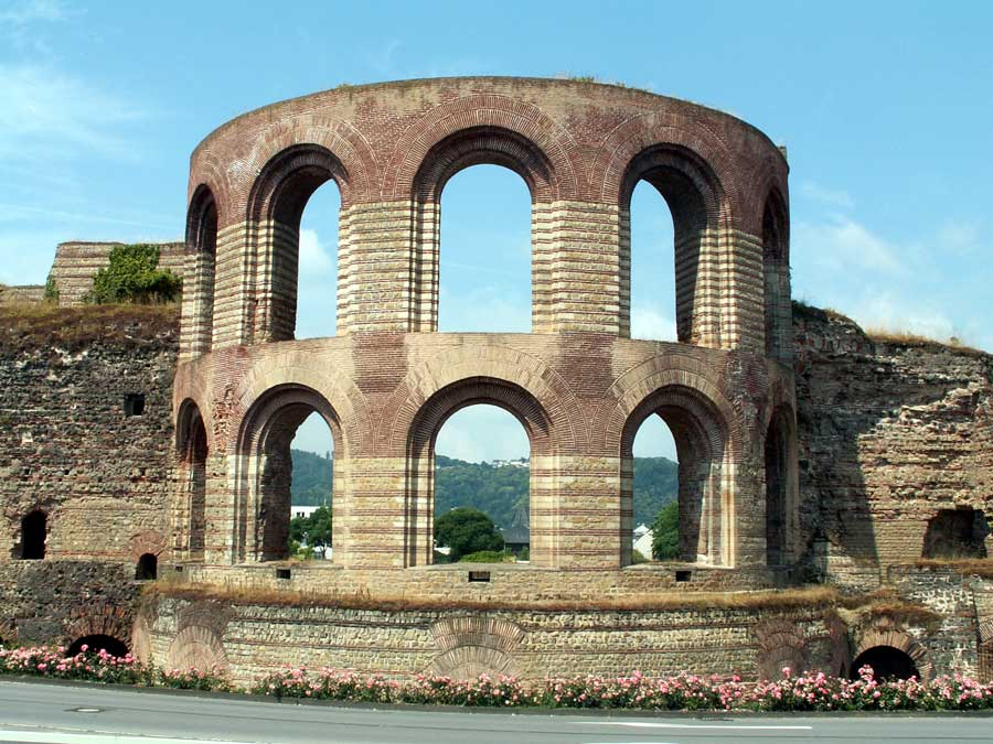 Kaiserthermen in Trier