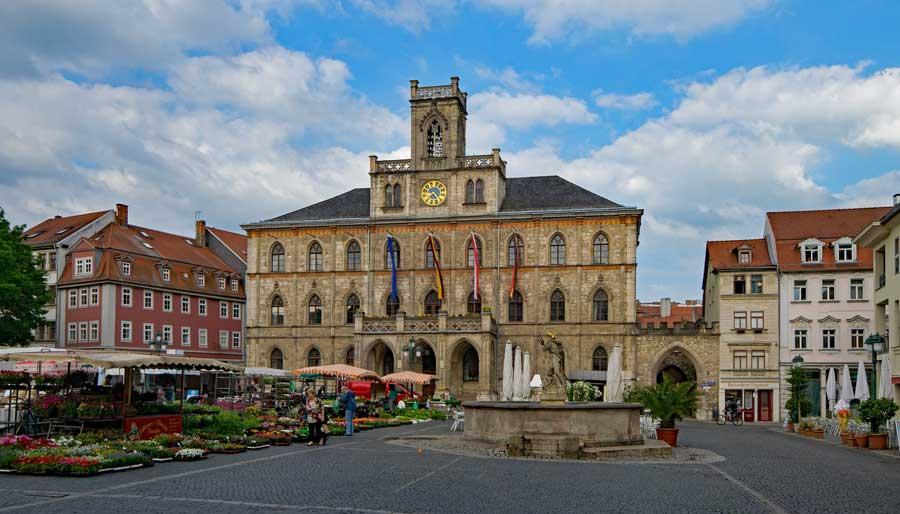 Altstadt von Weimar - Rathaus