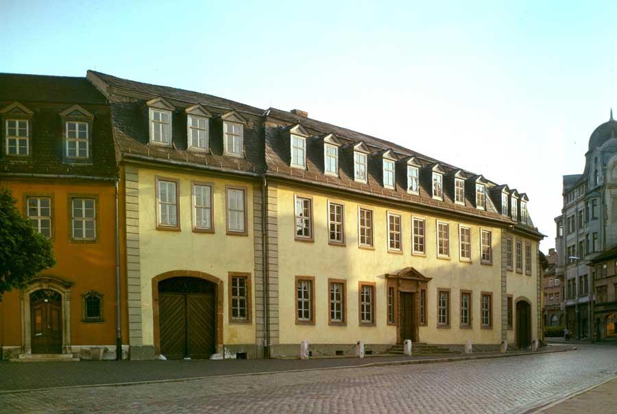 Sehenswürdigkeiten in Weimar - Goethes Wohnhaus in Weimar