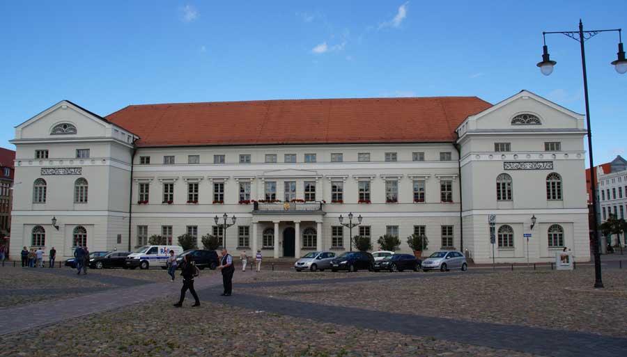 Rathaus in Wismar