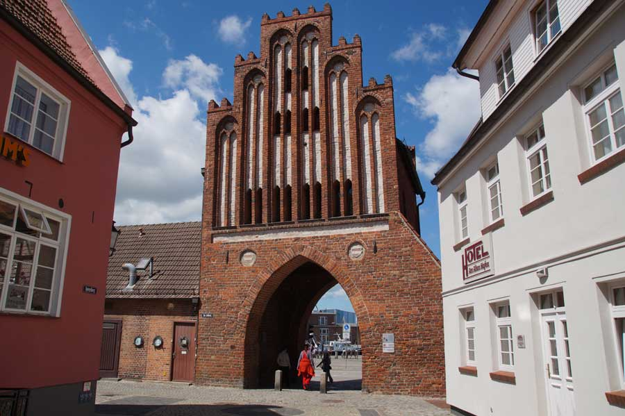 Sehenswürdigkeiten in Wismar - Wassertor