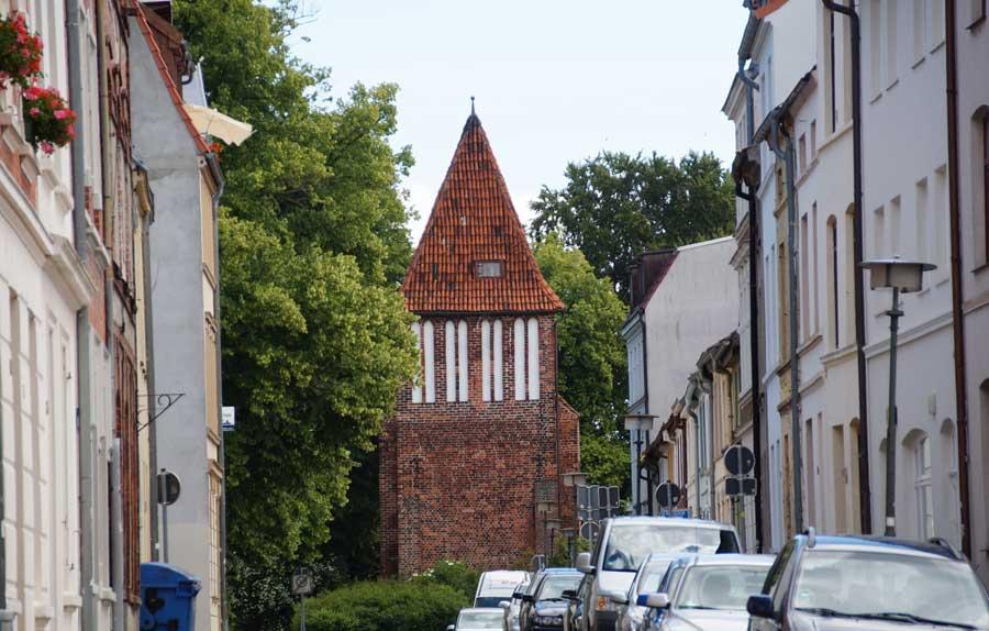 Sehenswürdigkeiten in Wismar - Wasserturm