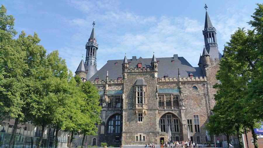 Sehenswürdigkeiten in Aachen das Rathaus