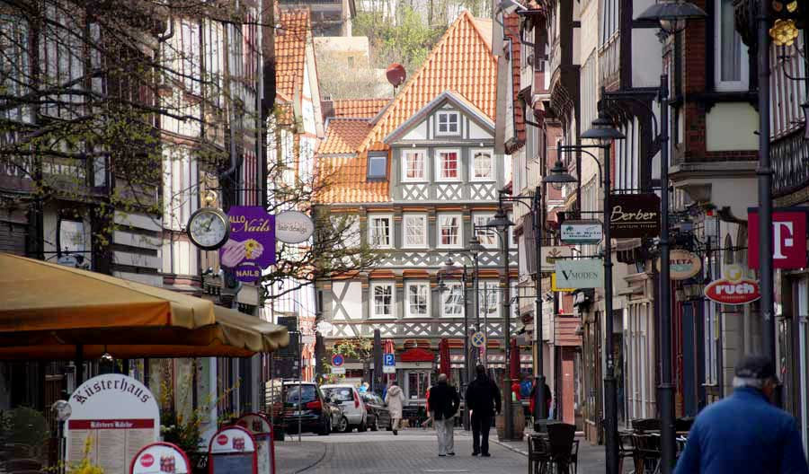 Fachwerk in der Altstadt von Hann.-Münden