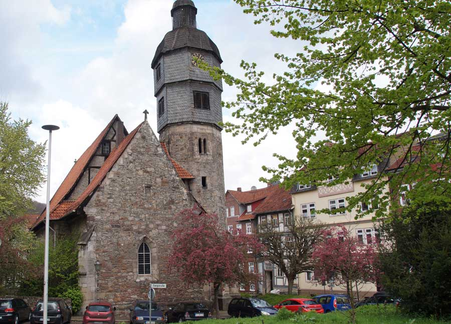 St. Aegidien, Cafe in Hann. Münden
