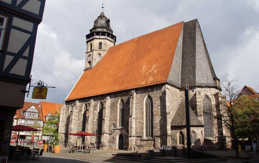 St. Blasiuskirche in Hann. Münden