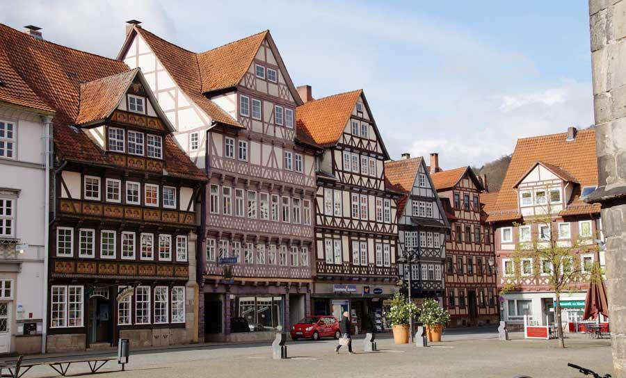 Kirchplatz Sehenswürdigkeiten in Hann. Münden
