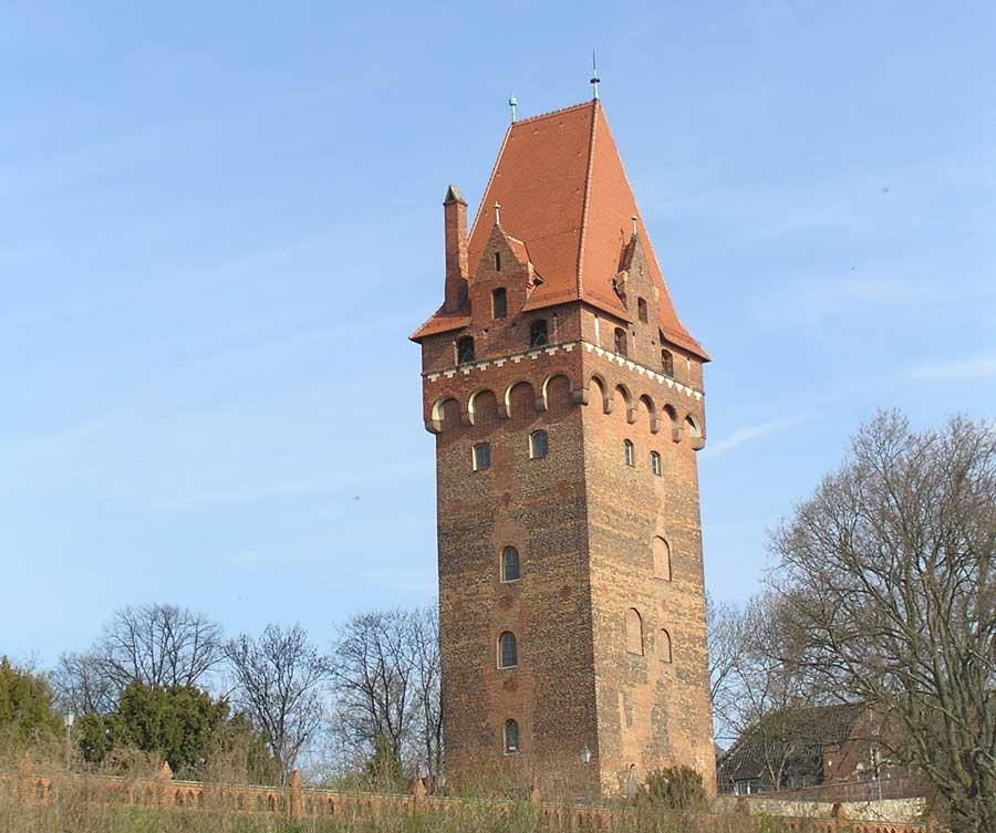 Sehenswürdigkeiten in Tangermünde - Kapitelturm auf der Burg