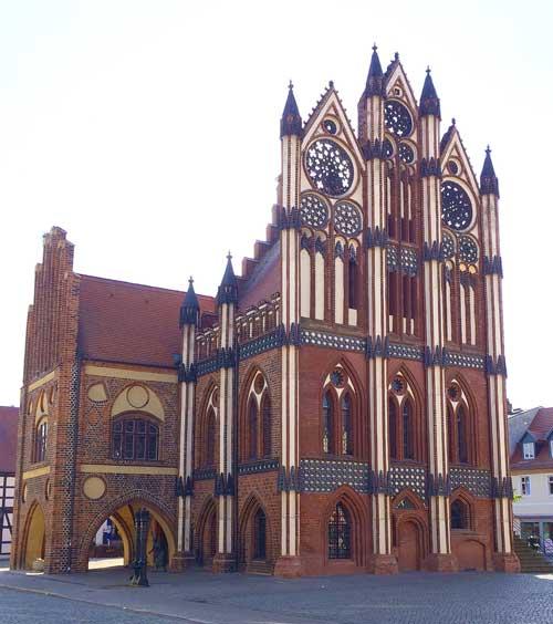 Sehenswürdigkeiten in Tangermünde - Rathaus