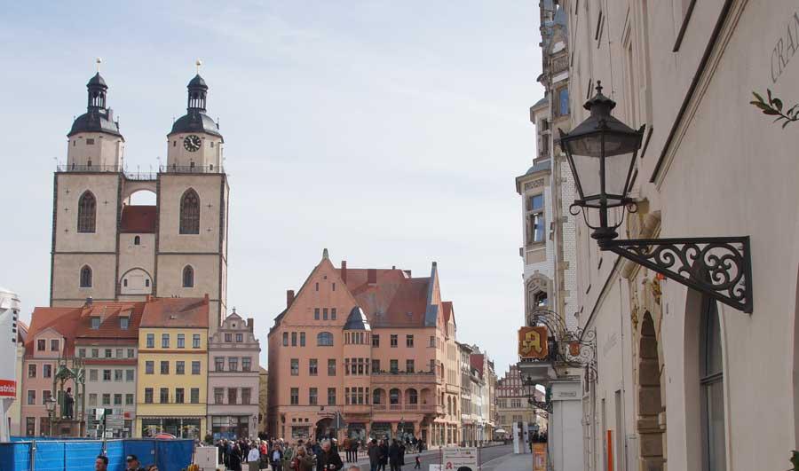 St. Marien, Stadtkirche in der Altstadt von Wittenberg