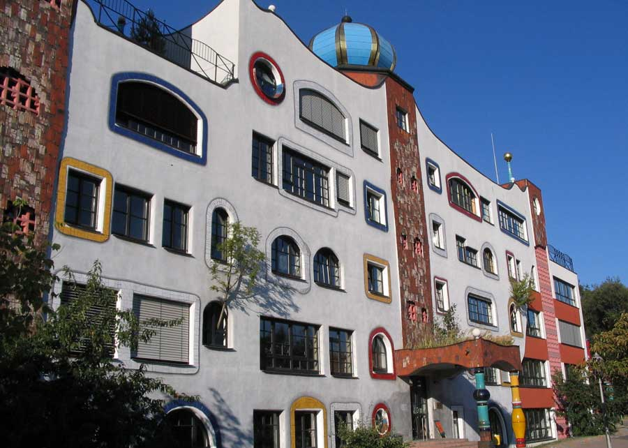 Hundertwasserschule ni Wittenberg
