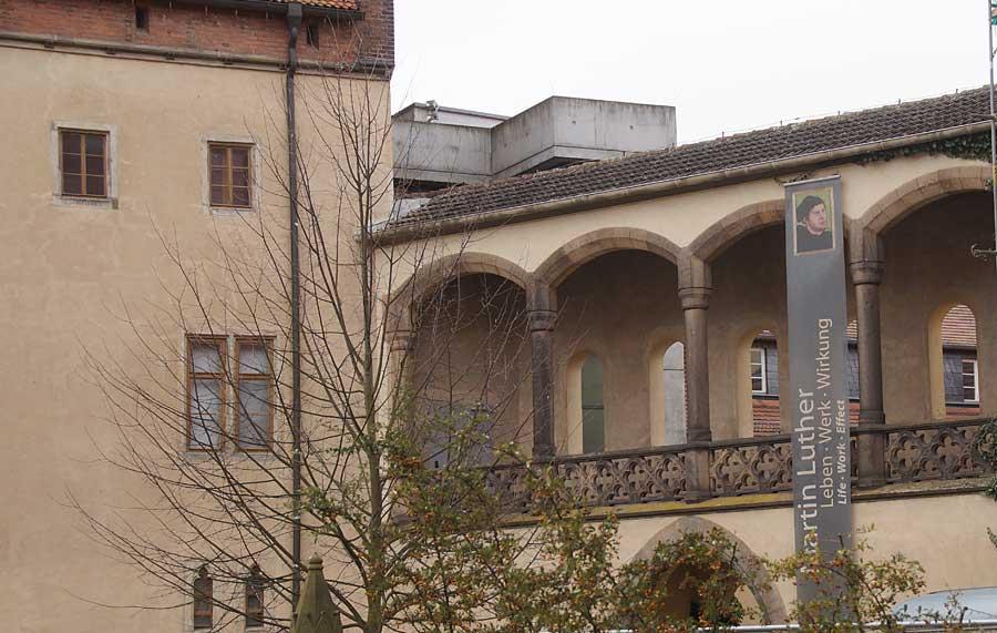 Lutherhaus in Wittenberg, Sehenswürdigkeiten in Wittenberg